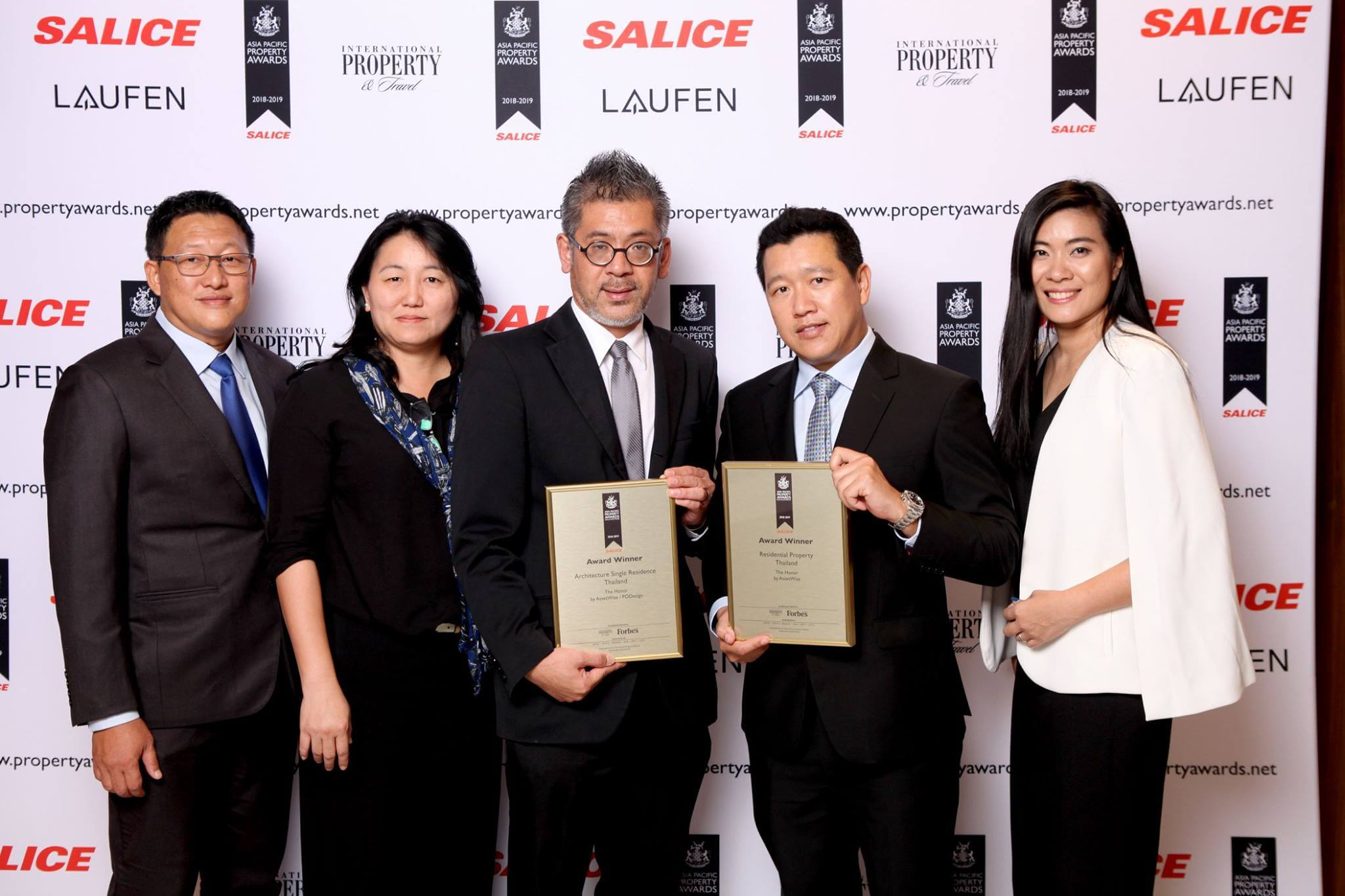 PACIFIC PROPERTY AWARDS 2018-2019
