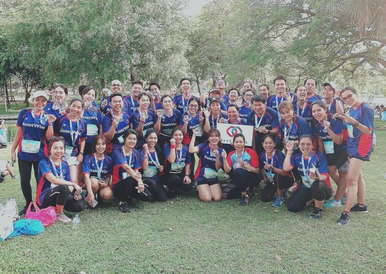 ชมรมวิ่ง AssetWise เข้าร่วมกิจกรรมวิ่ง Run for life ครั้งที่ 3