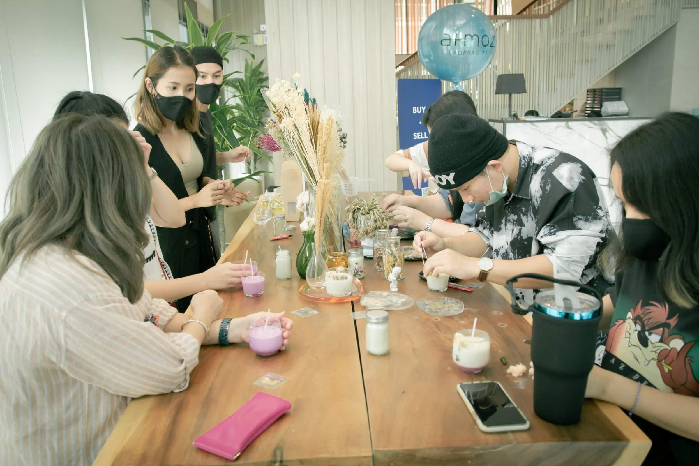 Wonderful Sunday (Workshop Candle Aroma Perfume)