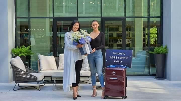 ยินดีต้อนรับอแมนด้า ชาลิสา ออบดัม Miss Universe Thailand 2020 ในโอกาสได้ย้ายเข้าอยู่โครงการแอทโมซลาดพร้าว 15